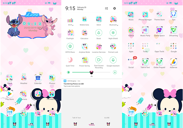 Oppo Theme: Oppo A3s Colorfull Minie Theme