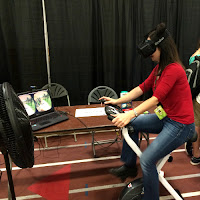 Boston Festival of Indie Games_New England Fall Events_Digital Games_VirZoom virtual reality bike