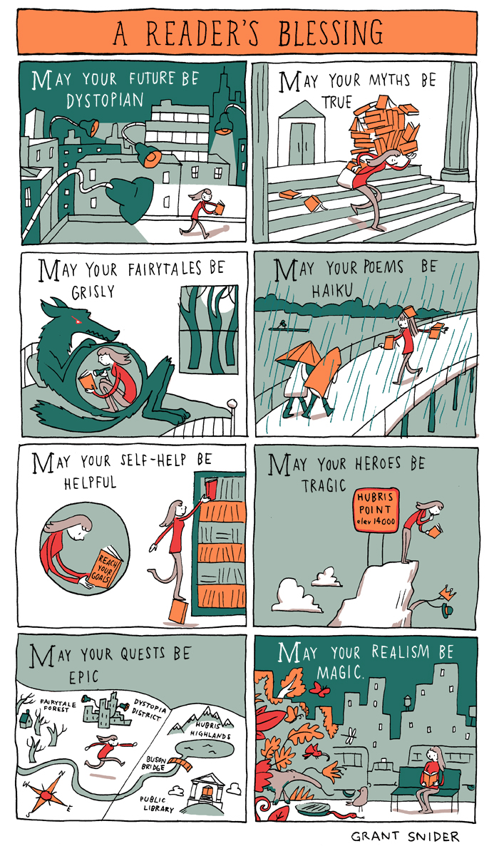 A Reader's Blessing from Grant Snider