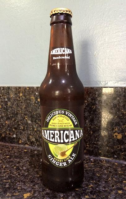 Americana Honey Lime Ginger Ale