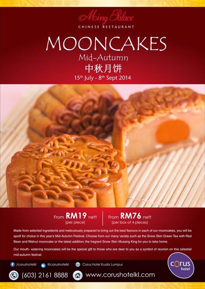 Mooncake Promotion 2014 Corus Hotel Kl Malaysian Foodie