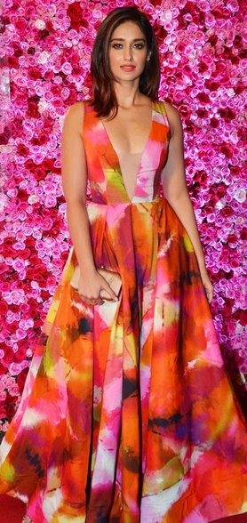 Ileana at Lux golden rose Awards