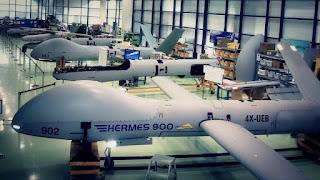Drone Patroli Maritim Hermes 900