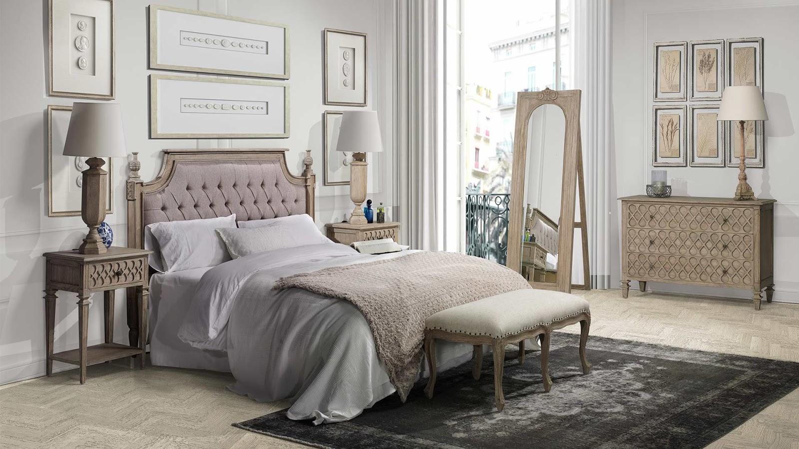 Muebles de dormitorio cabeceros para dormitorios clasicos for Dormitorios clasicos