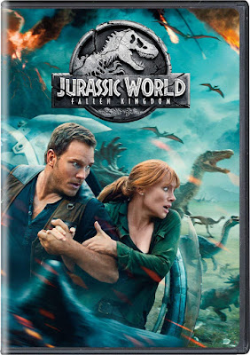 Jurassic World Fallen Kingdom Dvd