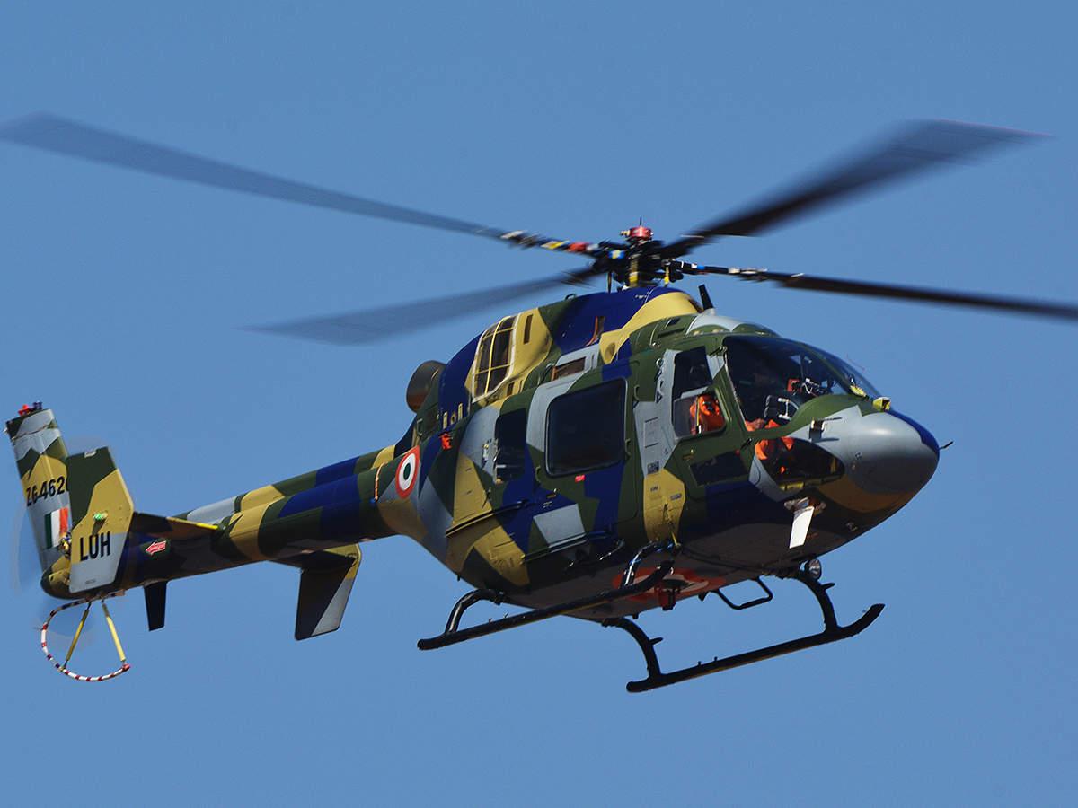 Індійський гелікоптер LUH отримав дозвіл на експлуатацію