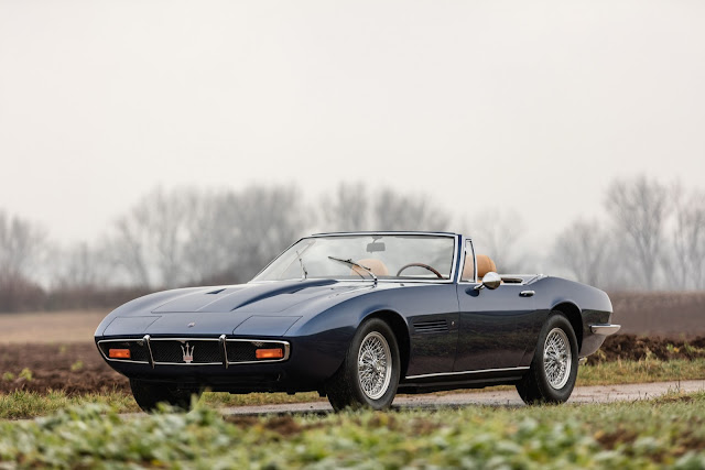 1970 Maserati Ghibli Spyder for sale at Artcurial Motorcars for EUR 700,000 - #Maserati #Ghibli #Spyder #classic_car #for_sale