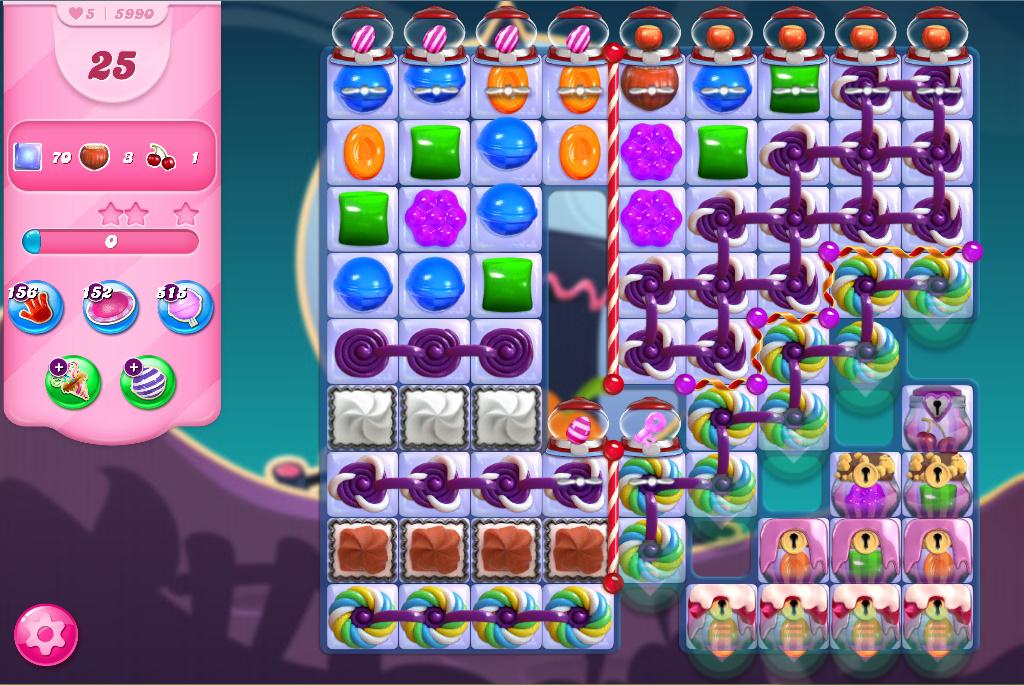 Candy Crush Saga level 5990