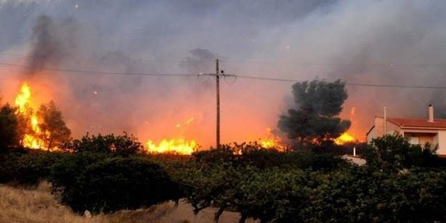 Πύρινη λαίλαπα - 91 πυρκαγιές σε όλη την Ελλάδα σε ένα 24ωρο!