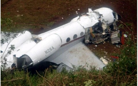 OMG!! DR Congo Military Plane Crashes, 12 Dead