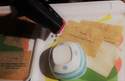 tutoriel faire effet vieilli papier parchemin rapide facile diy chasse trésor