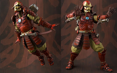 Samurai Iron Man Mark 3 Marvel Meisho Manga Realization Action Figure