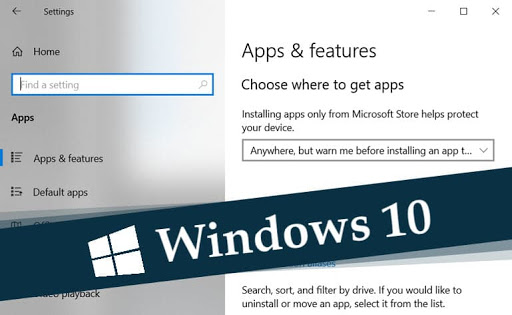 How to manage optional features of Windows 10?