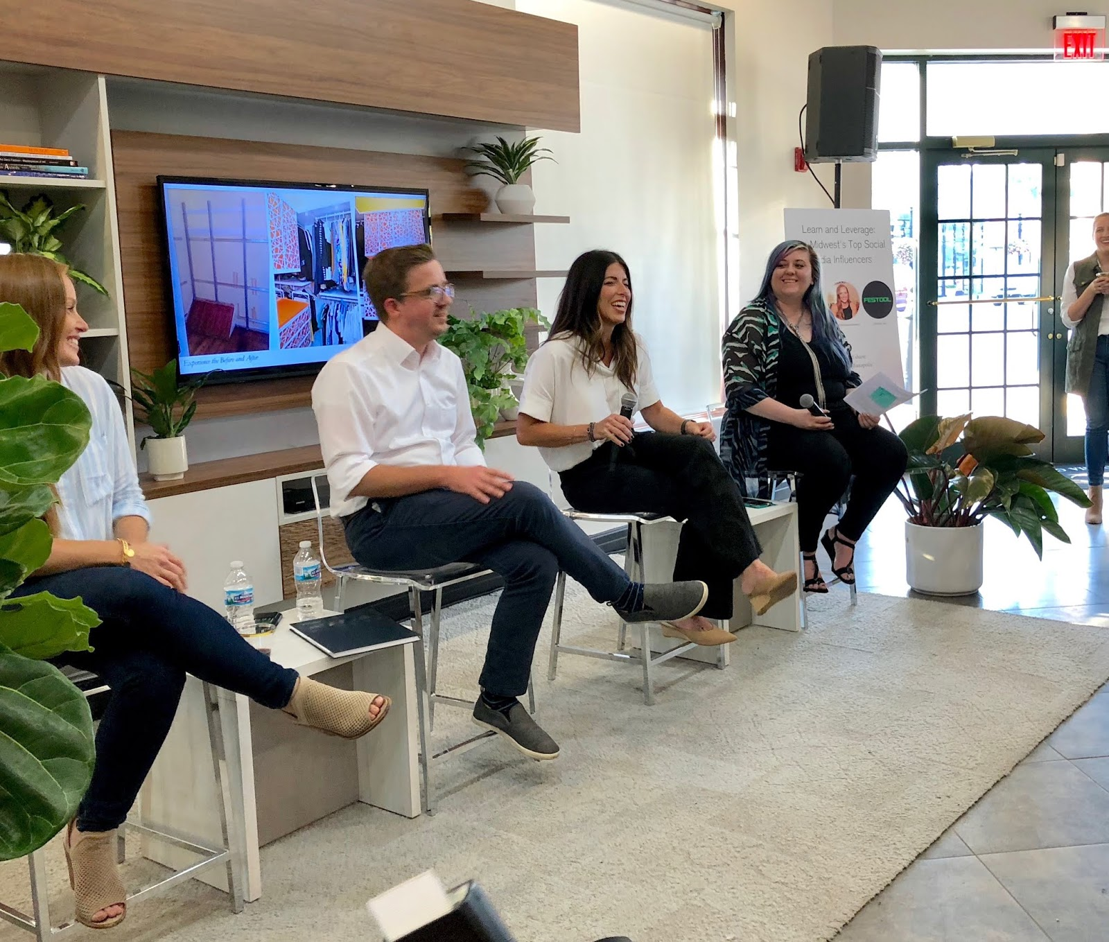 A Few Weeks Ago I Had The Pleasure Of Participating In An Influencer Panel  Hosted By California Closets. The Other Panelists And I Answered Questions  About ...