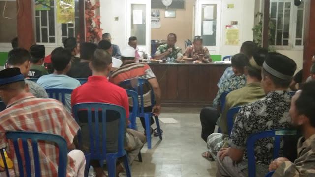 Jelang Pemilu, Linmas Mayong Lor Diberikan Pembekalan