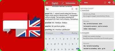 Kamusku - Aplikasi Kamus bahasa inggris offline