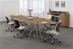 modular conference table set