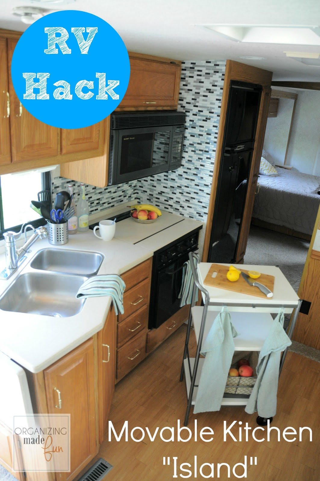 RV Organizing And Storage Hacks {Small Spaces