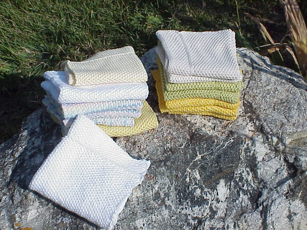 For Knitting Machine Dish Cloths