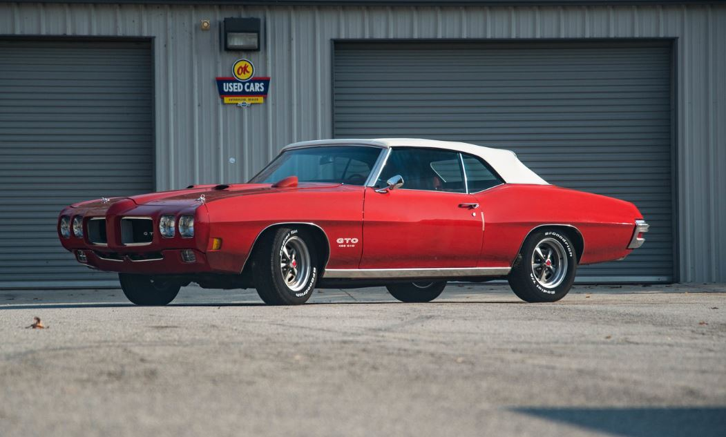 On the Block: 1970 GTO 455 HO convertible Update Sale Price ...