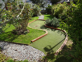 Miniature Golf at Puckpool Park in Ryde on the Isle of Wight