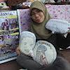 Sabrina Adlina ~ Lukis Wajah Di Bantal, Hasilkan Omset Jutaan Rupiah