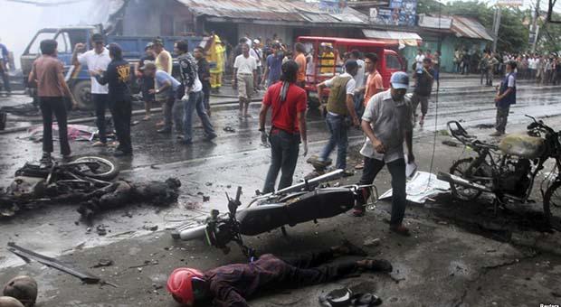 Delapan Orang Tewas dalam Dua Ledakan di Jolo, Filipina