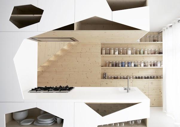 Desain Dapur Unik Nuansa Putih 03