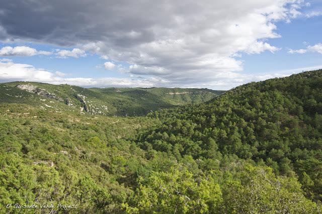 Vista Ruta Fuente de la Tamara - Huesca por El Guisante Verde Project