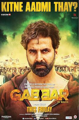 Gabbar Is Back 2015 Hindi 720p DVDRip