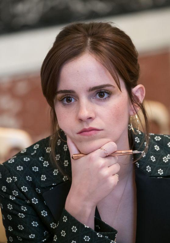 Emma Watson – G7 Gender Equality Advisory Council Meeting