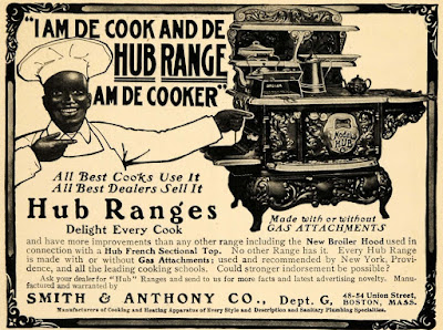I am de cook and de Hub Range am de cooker