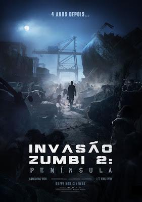 Invasão Zumbi 2 Península  Estreia e Pôster Oficial