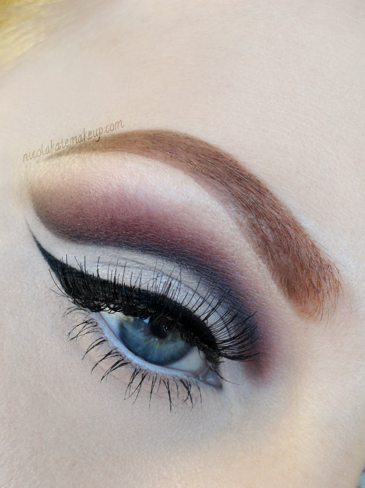 Cut Crease Makeup: Nicola Kate Makeup: Soft Cut Crease