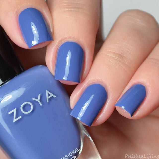 periwinkle blue nail polish