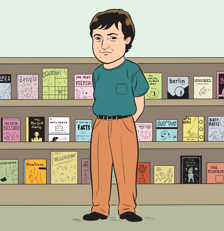 Montreal's Cartoonfest! Librairie D+Q hosts New Yorker