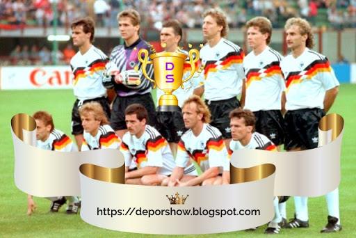 A 9 días del inicio del Mundial Rusia 2018: Recuerdos mundialistas, en 1990 Alemania alcanza la cumbre; Italia, como local, el desconsuelo.