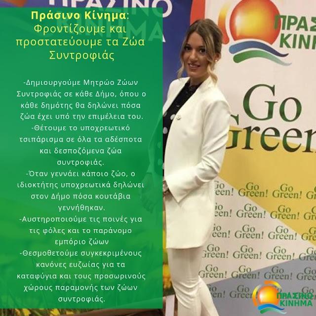 Πράσινο Κίνημα: Οι ανώνυμοι δήθεν ακτιβιστές δεν θα πλήξουν το εθελοντικό φιλοζωικό κίνημα