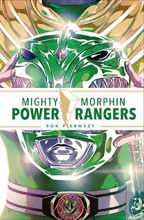 Mighty Morphin Power Rangers. Rok pierwszy okładka