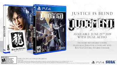 Judgement Game Cover Features Ps4