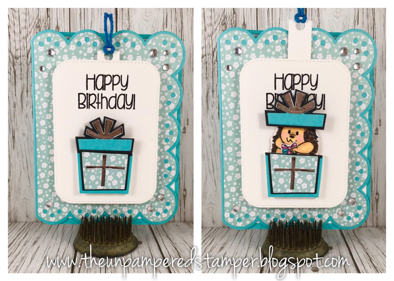 Die Birthday Cake Slider
