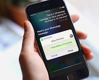 Whatsapp iOS Siri