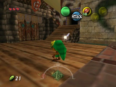 The Legend of Zelda: Majora's Mask 3D Screenshot 1