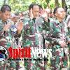 Mayjen TNI Agus SB,Sholat Jum'at di Medan Terbuka