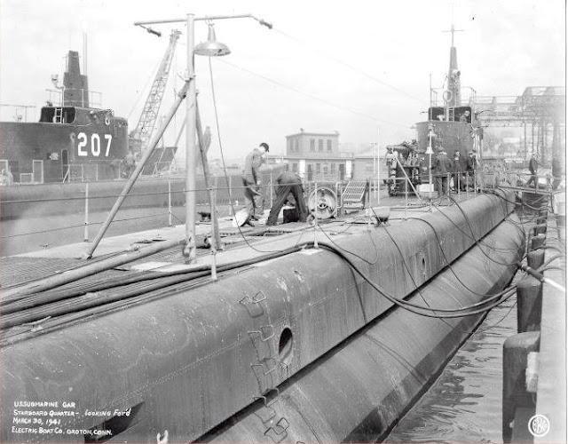 30 March 1941 worldwartwo.filminspector.com USS Gar USS Grampus