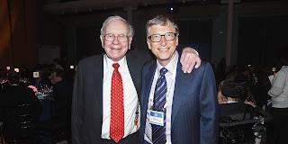 Warren Buffett y Bill Gates, los dos hombres mas ricos del mundo