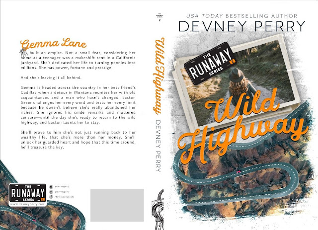 Cover Reveal: Wild Highway (Runaway #2) by Devney Perry | About That Story