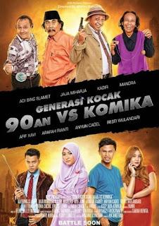 Generasi Kocak: 90-an Vs Komika ( 2017 )