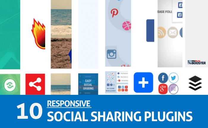 Responsive Social Sharing Plugins