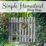 Simple Homestead Blog Hop